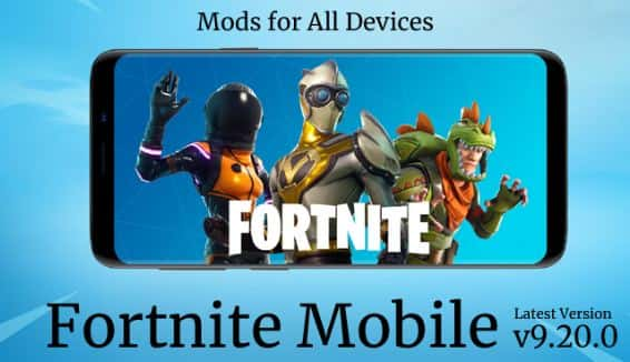 Fortnite Mobile Mod Apk 2020 Free Download Unlimited Vbucks Health Fortnite Battle Royale Game Epic Games