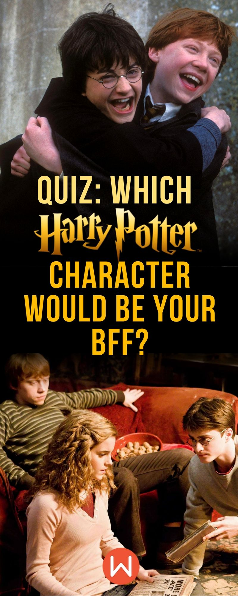 Hogwarts Quiz: Which Harry Potter Character Would Be Your BFF