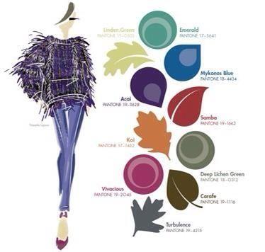 Una idea de la paleta de colores que predominara este invierno 2014¡!!