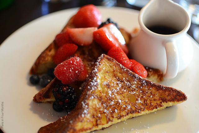Café Cluny - French Toast by Paris in Four Months, via Flickr