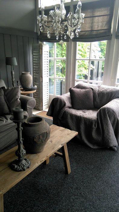 Photo diary: de woonweek van Bianca Dudink - Rustieke woonkamers ...