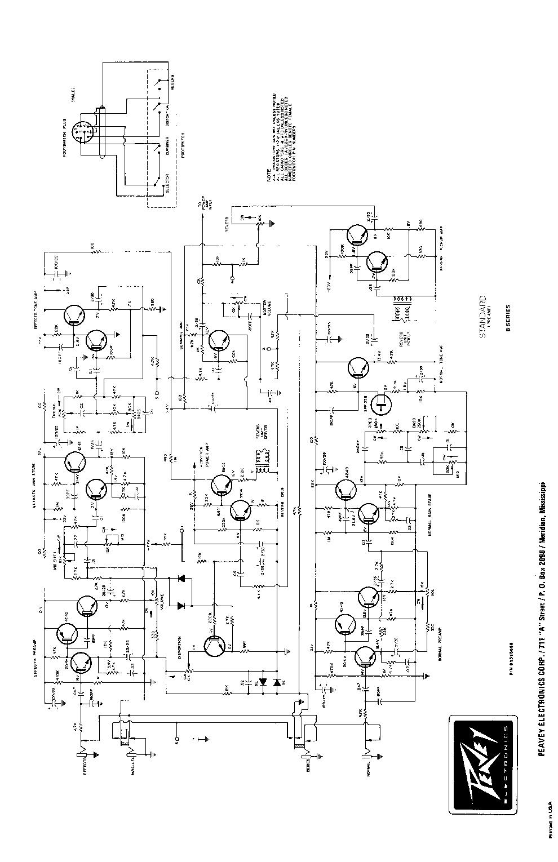 PEAVEY PV-1500 Service Manual download, schematics, eeprom