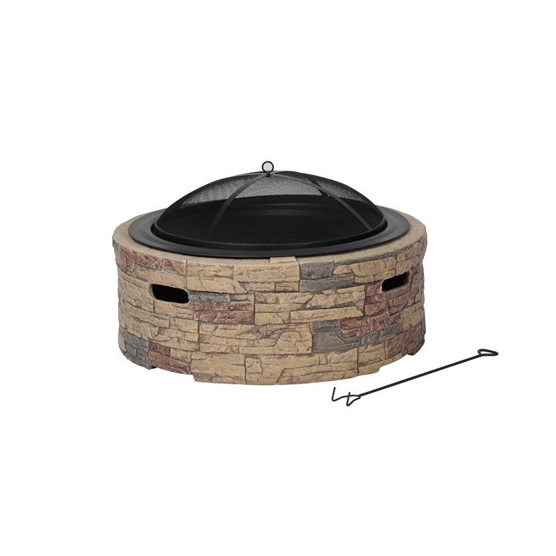 Fiammetta Cast Stone Fire Pit Outdoor Fire Pit Fire Pit Outdoor Fire Pit Designs