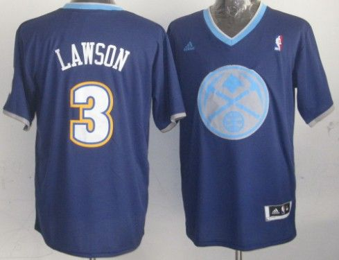 Denver Nuggets  3 Ty Lawson Revolution 30 Swingman 2013 Christmas Day Navy  Blue Jersey e97780dfc
