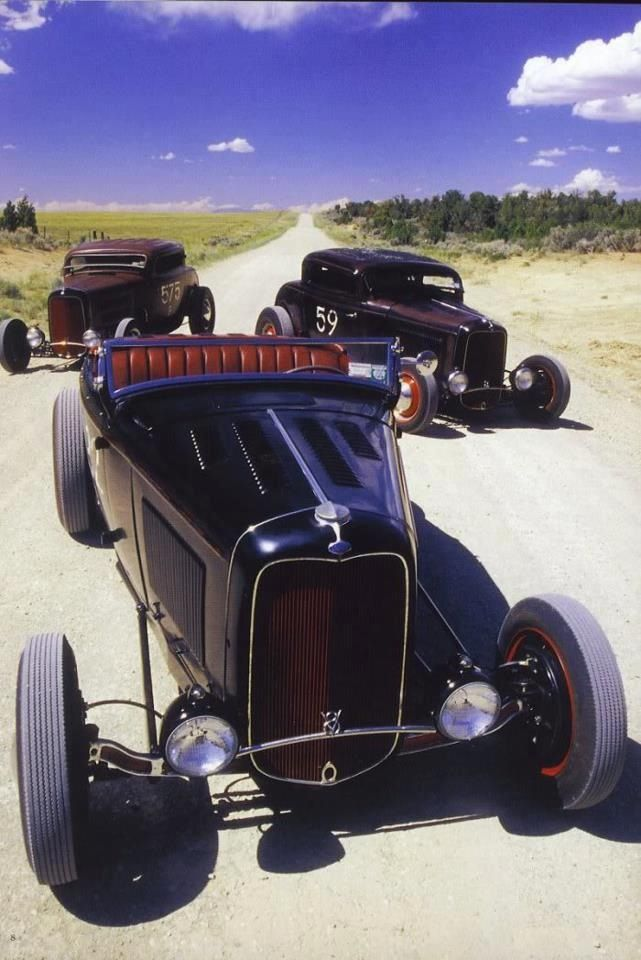 Old school hot rods. | Interesting and/or Unusual Vehicles That I ...