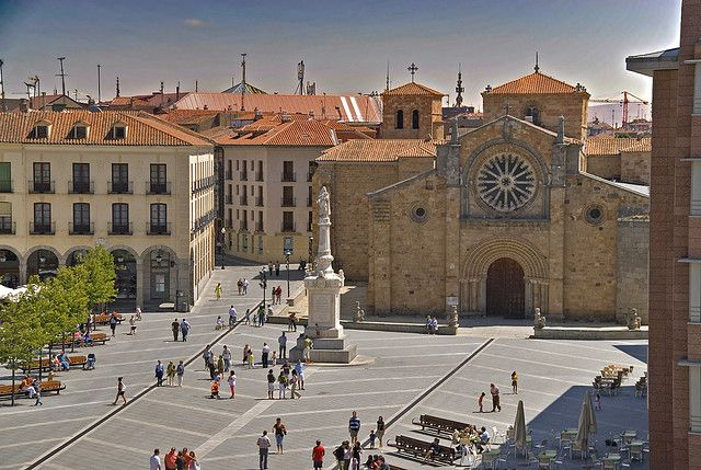 Iglesia de S. Pedro. Plaza de Santa Teresa, Avila | España, Arte ...
