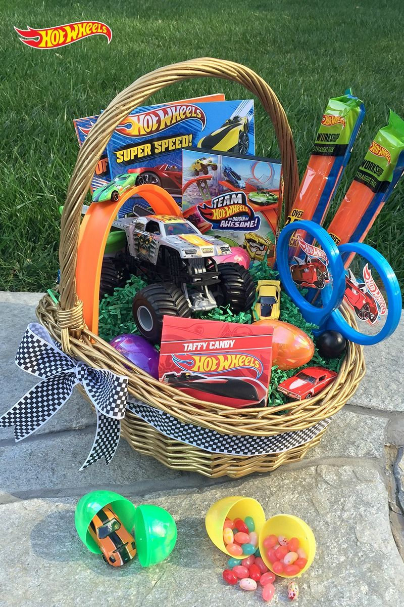 Leave average easter baskets in the dust blow his mind with a leave average easter baskets in the dust blow his mind with a spectacular hot wheels negle Image collections