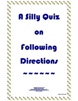 Worksheet Following Directions Worksheets For Middle School 1000 images about following directions on pinterest 2 step maze and language