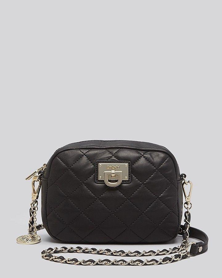 Crossbody Gansevoort Quilted Nappa Camera Bag | Black quilt ... : dkny black quilted handbag - Adamdwight.com