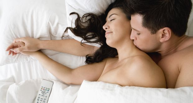 Man having sex with woman enjoyable