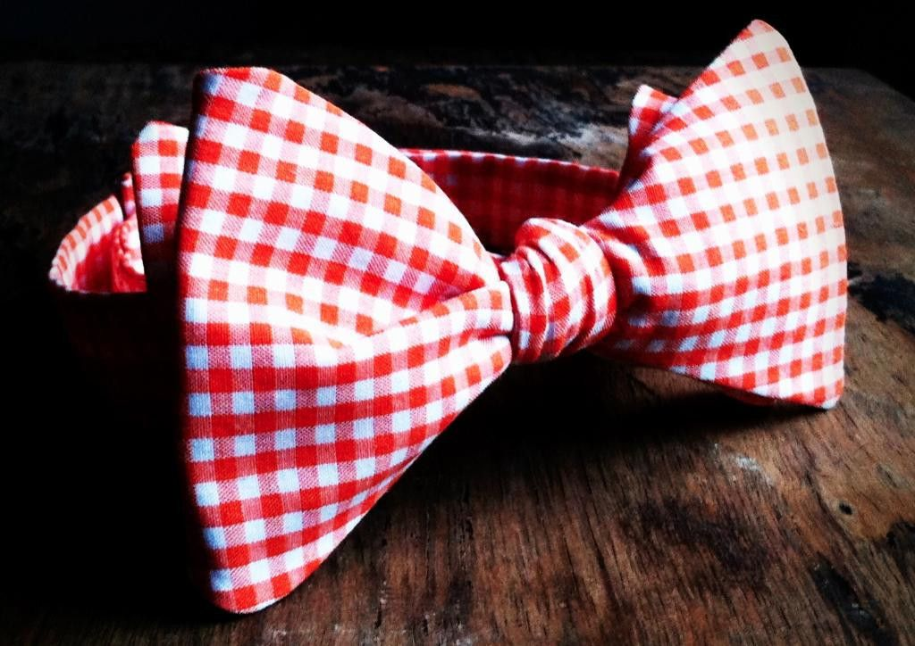 Bow Tie-Gingham