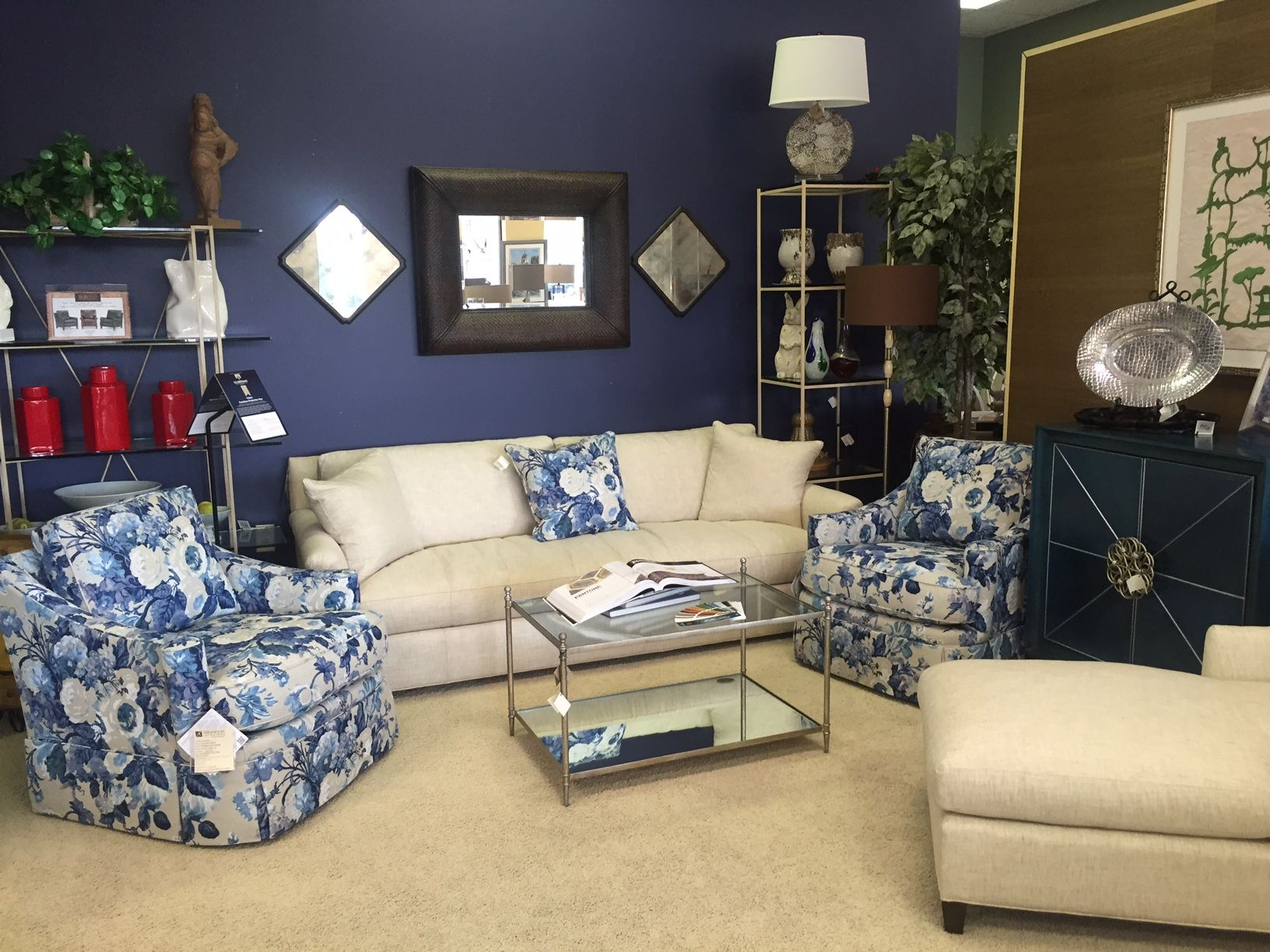 Amazing Loving The New Cr Laine Grace Swivel Chairs In The Indigo Gmtry Best Dining Table And Chair Ideas Images Gmtryco