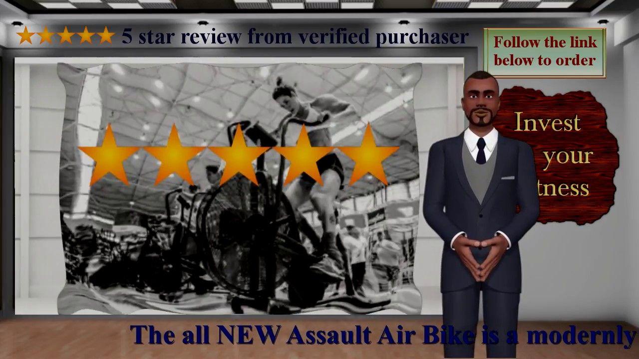All New Assault Air Bike Bike trainer, Bike, Health