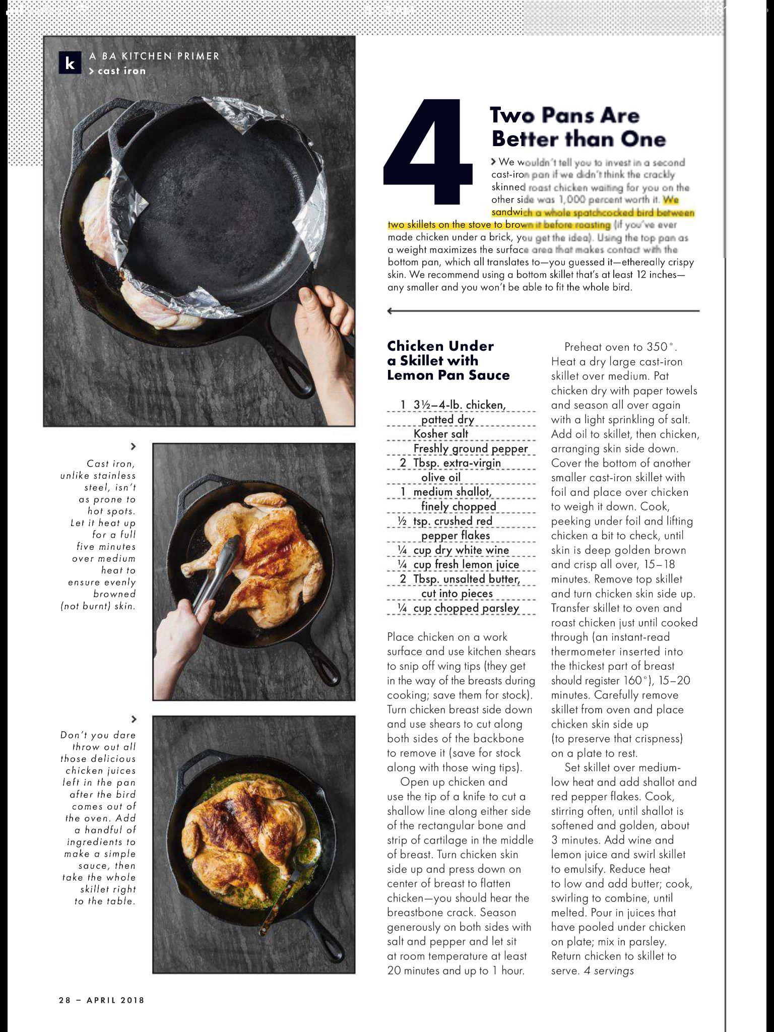 Grillen Met Een Gietijzeren Pan Bon Appetit Grillen Is Niet Zo Eenvoudig Draai Een Steak O Cast Iron Recipes Cast Iron Pan Bon Appetit