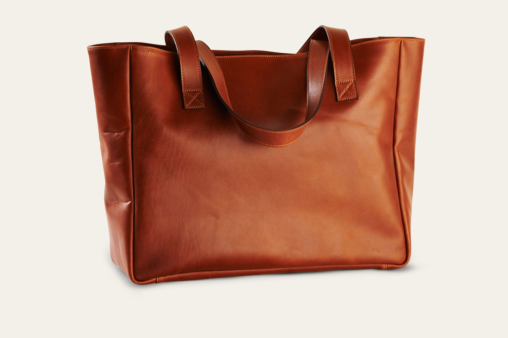Our leather tote is in store, you can find our full rage on www.allthekingsmen.com.au