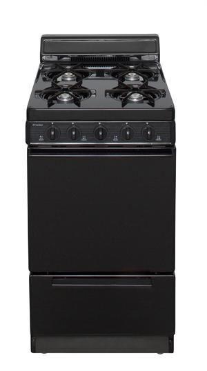 Premier Bak100bp 20 Battery Ignition Gas Range Black Kitchen