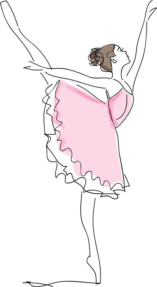 Desenho De Bailarina Para Colorir Imprimir E Moldes Pintura De