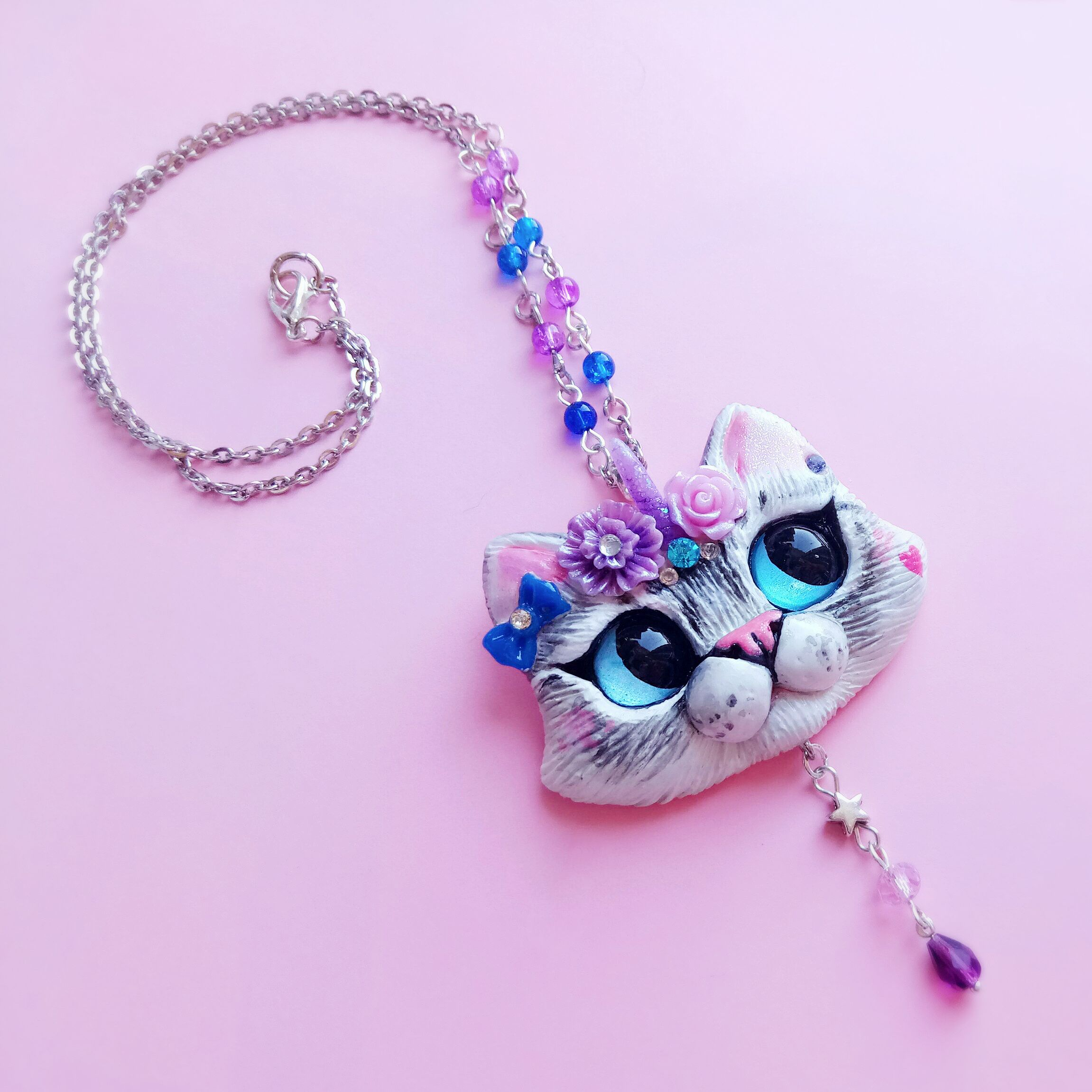 product index rhinestone s shop black jewelry gift necklace better cat jewellery children whimsy childrens