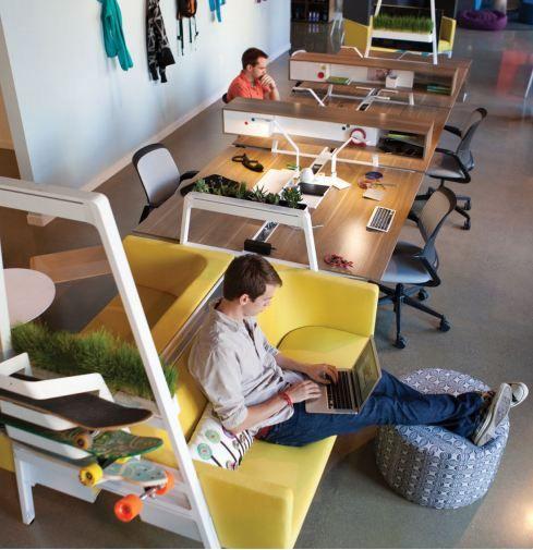j 39 aime la densit et la mixit espace bureau et espace. Black Bedroom Furniture Sets. Home Design Ideas