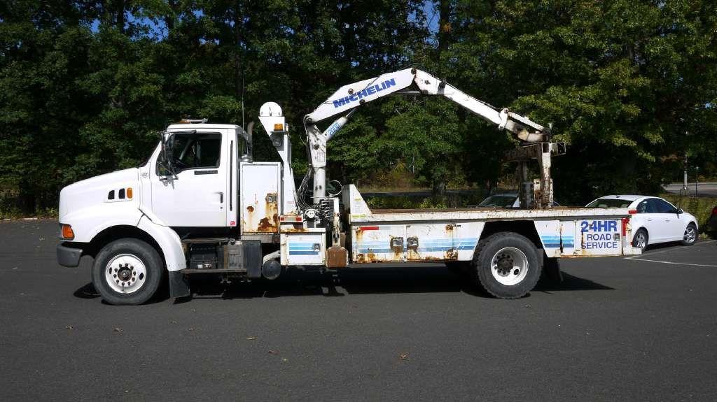 2000 Knuckleboom Truck Tire Truck 5 Ton Trucks Used Trucks Boom Truck