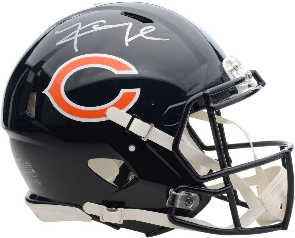 Khalil Mack Chicago Bears Autographed Riddell Speed Authentic Helmet Footballhelmet Sportsmemorabilia Autograph Chicago Bears Football Helmets Helmet