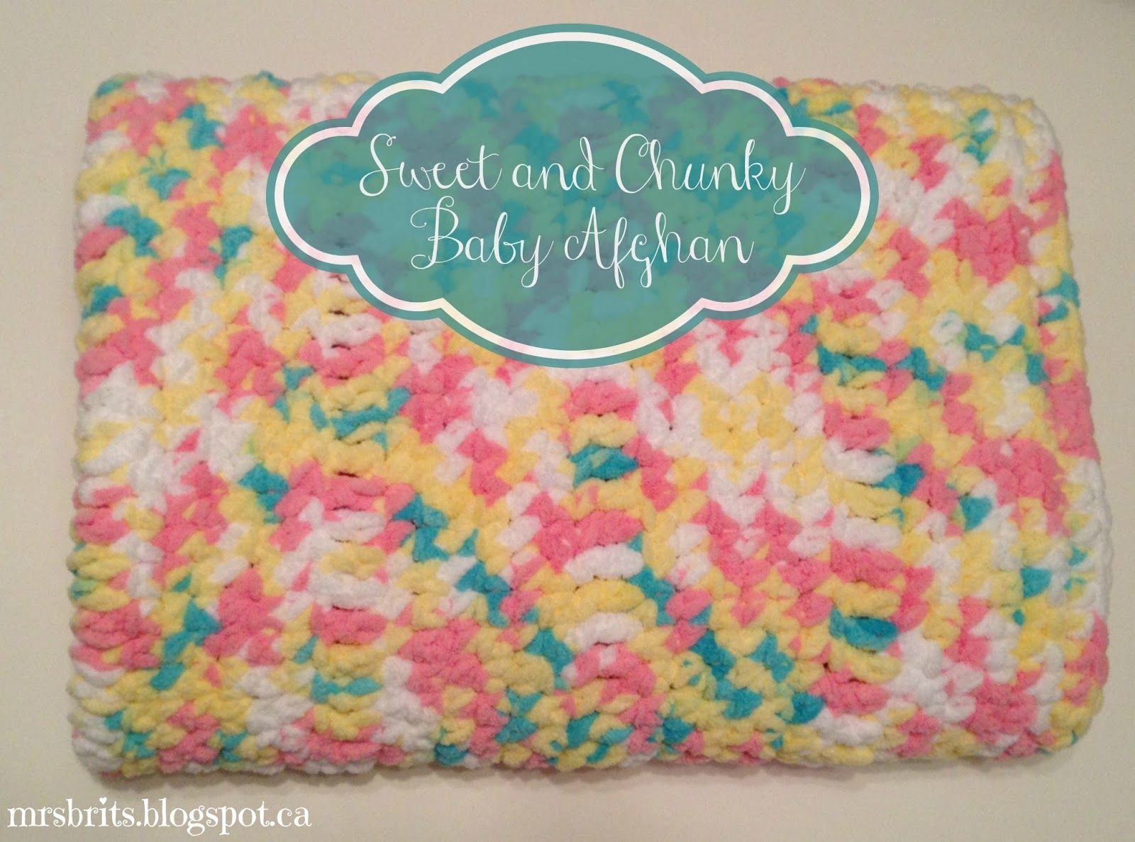 Mrsbrits sweet and chunky baby afghan crochet pattern crazy mrsbrits sweet and chunky baby afghan crochet pattern bankloansurffo Image collections