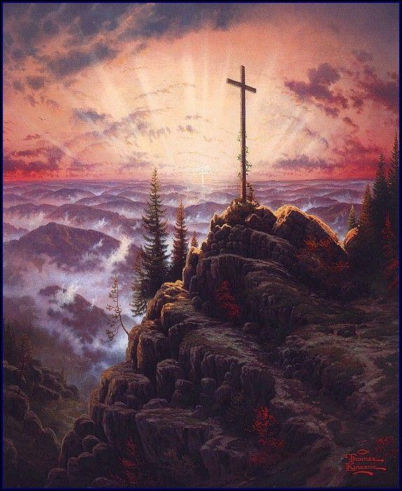 настоящее крест в картинах художников собором планировали построить