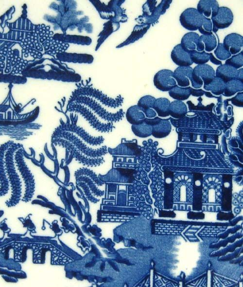 Spode Blue And White Willow Pattern My Grandma Had This Now I Have It