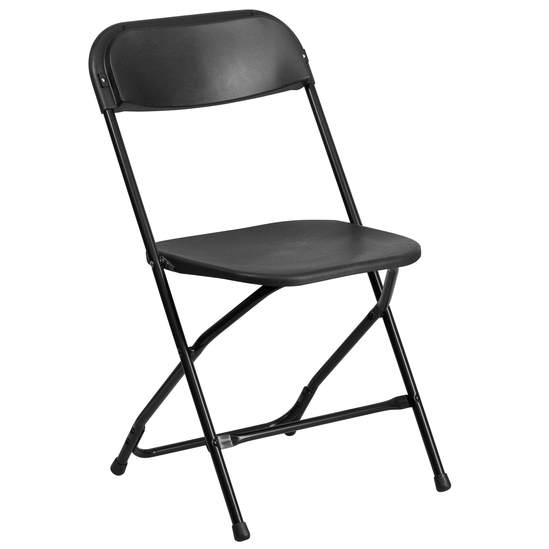 Ontario Black Durable Folding Chairs (Ontario Black Durable Folding Chair 1)