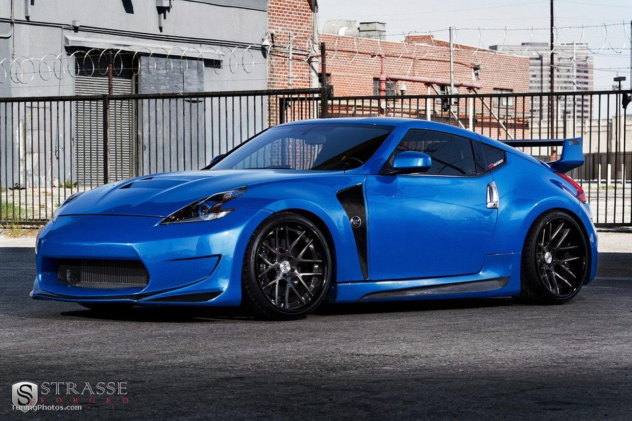 Nissan 370z Supercharged Tuned by Strasse Forged | Cool Cars ...