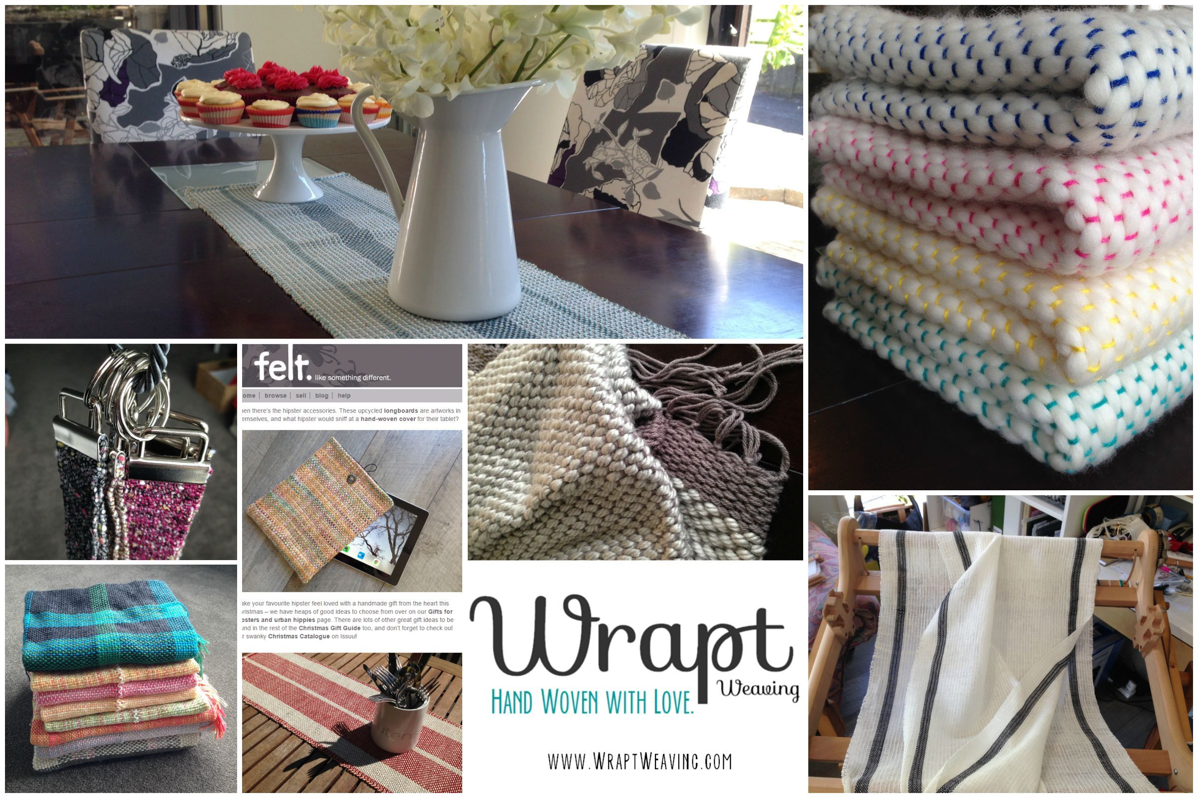 Hand woven market products