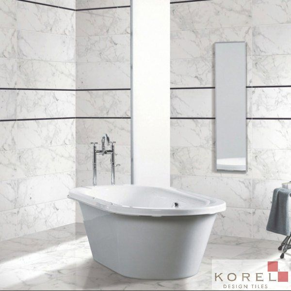 Floor & Wall Tiles :: CARRERA WHITE \