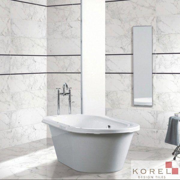 floor wall tiles carrera white