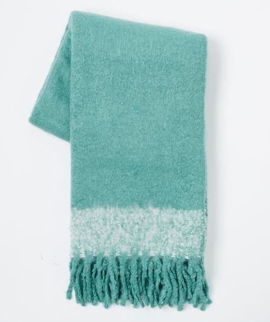 Peacock Cozy Texture Throw - Everything TurquoiseEverything Turquoise