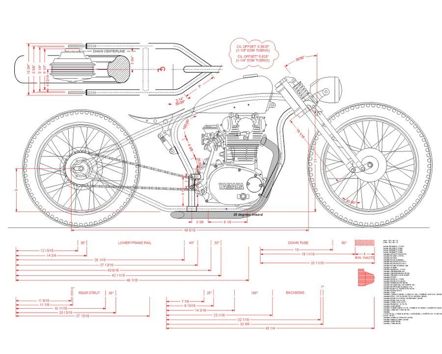 The 'leftovers' project XS650 DO THE TON in 2020