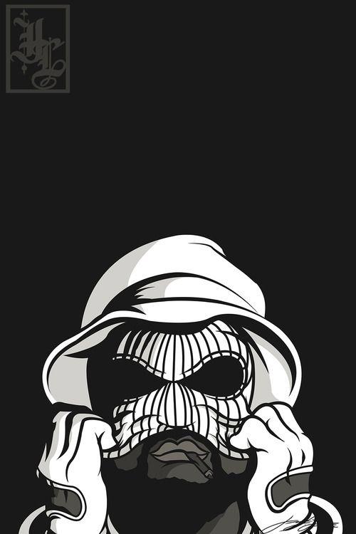 Illustration Cali Gangsta Vector West Coast Hiiipower Schoolboy Q Rapper Art Hip Hop Art Art