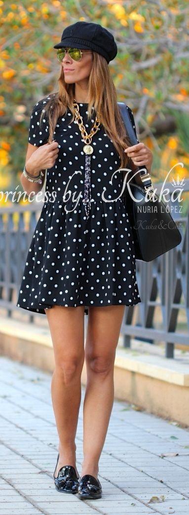 Polka Dot Little Dress by Like A Princess Like.... Kuka