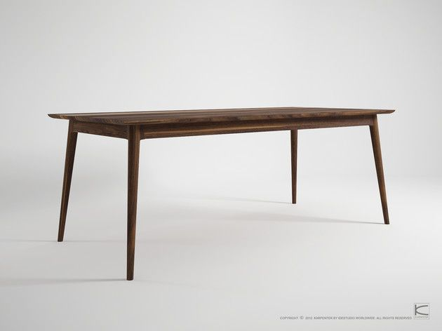 VINTAGE DINING 220CM $3740 Dining Table Pinterest
