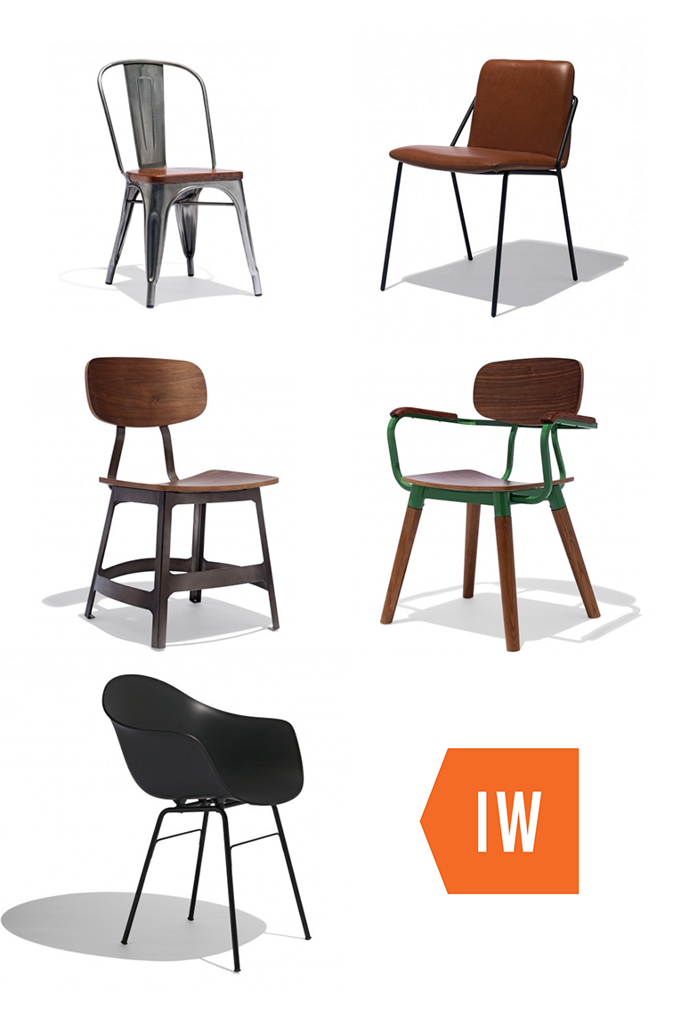 Shop Industrial, Modern And Mid Century Chairs From Industry West!