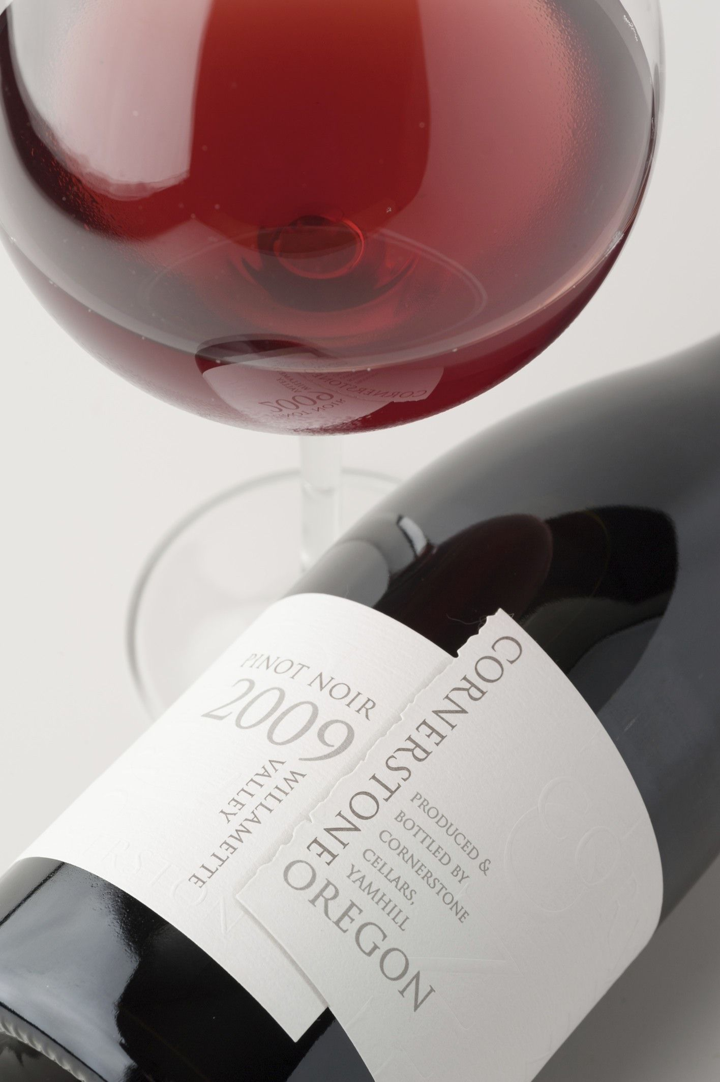New Photo Of Our 2010 Cornerstone Oregon Willamette Valley Pinot Noir Wine Bottle Shots I Love Pinot Noir Wine Wines