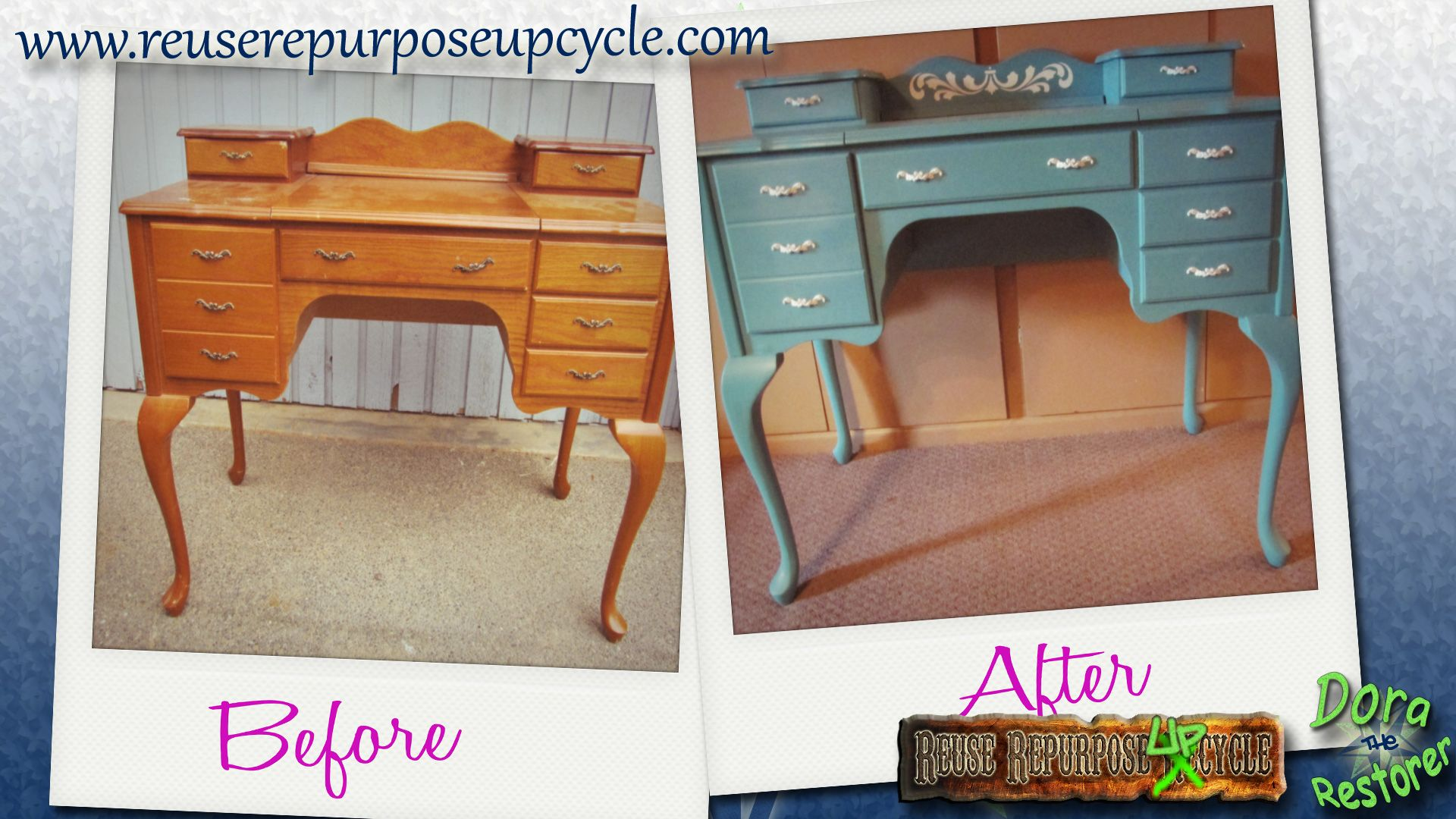 Before and after..... | Repurposed furniture, Furniture ... |Repurposed Furniture Before And After