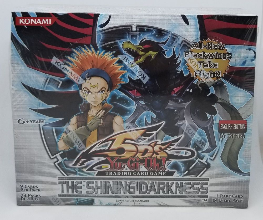 YUGIOH 1ST EDITION SHINING DARKNESS BOOSTER BOX FACTORY