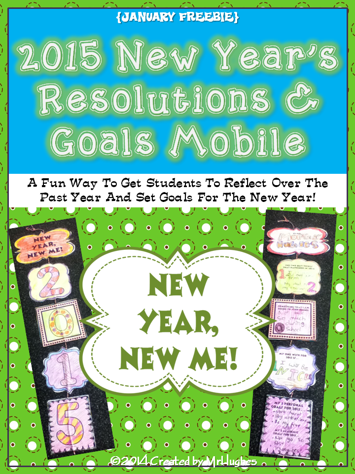***2016 UPDATE IS HERE! DOWNLOAD NOW FOR THE NEW YEAR! WAHOO!***  THIS LINK WILL TAKE YOU TO IT! Those first few days back from winter break can be difficult, but with the great interactive FREEBIE in your corner, you are sure to have them focused and ready to learn in no time. (New options this year!)