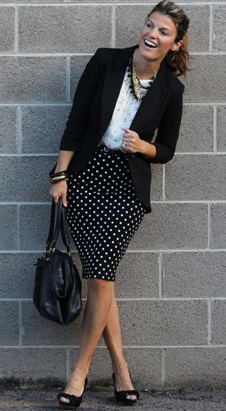 2b46c8d8f689b Kalem etek ve blazer ceket kombini... | Fashion | Ofis kıyafetleri ...