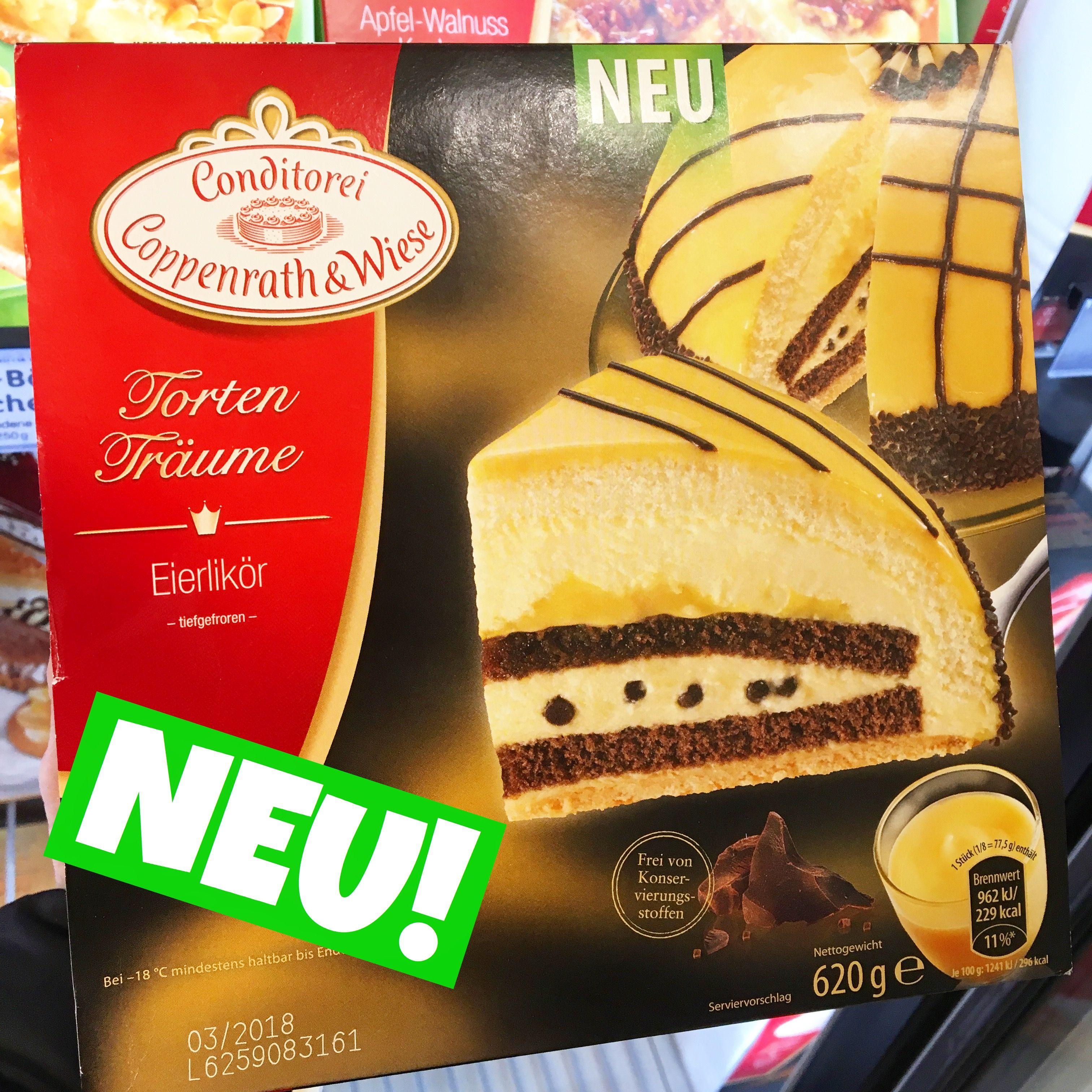Neue Eierlikor Torte Von Coppenrath Wiese Kaffee Kuchen Mit Schuss Mit Bildern Kaffee Und Kuchen Torten Lebensmittel