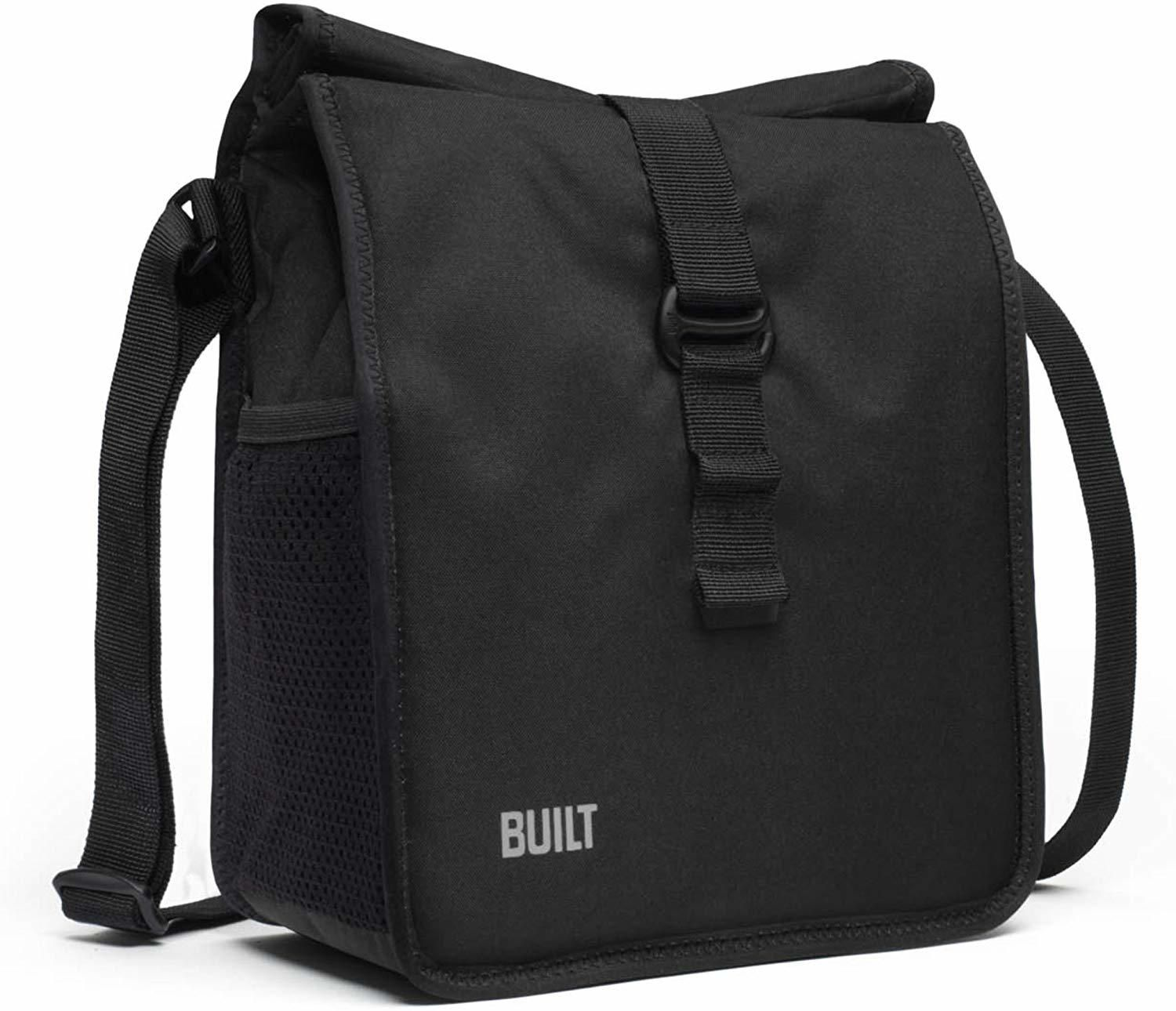 Built ny crosstown lunch bag black mens lunch bag