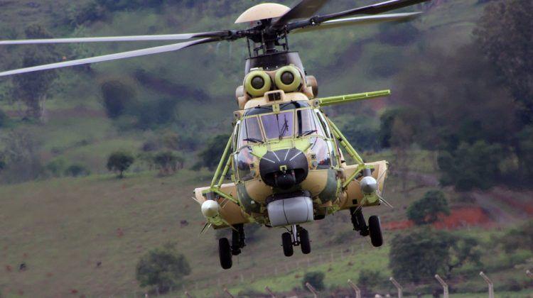 O H-225M também pode ser configurado para transportar 28 soldados (Thiago Vinholes)