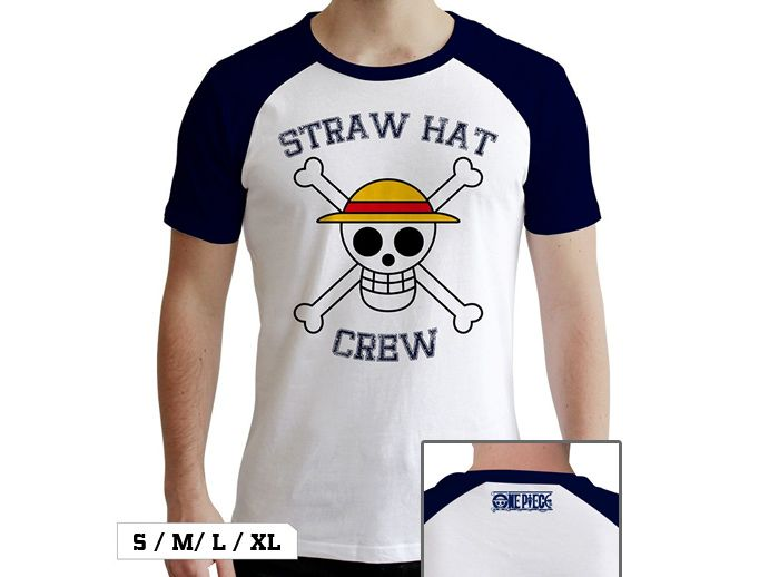 Shirt With The Straw Hat Pirates Jolly Roger Symbol Crew