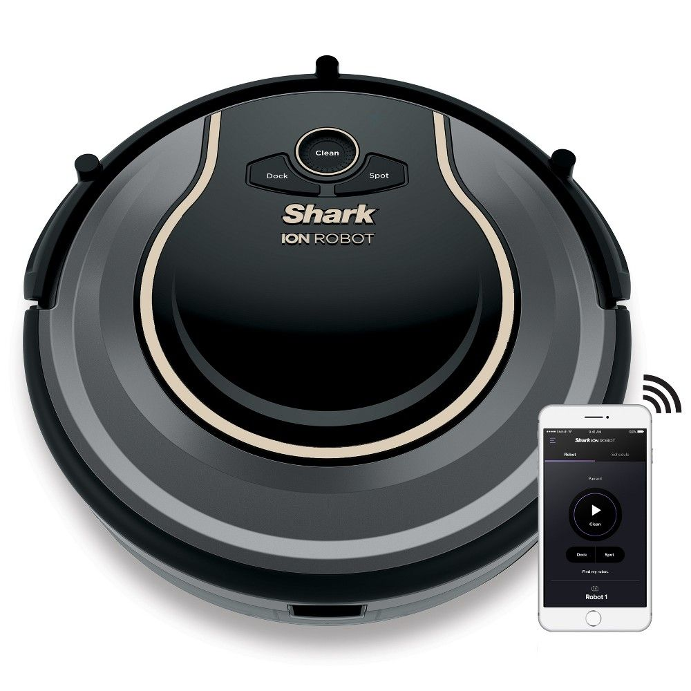 Shark Ion Robot Vacuum R75 With Wi Fi Rv750 In 2020 Robot Vacuum Cleaner Roomba Vacuum Robot Vacuum