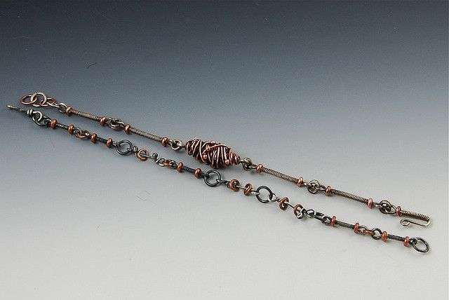 Two wire bracelets | Flickr - Photo Sharing!